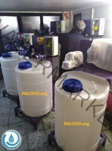 کلرزن - قیمت کلرزن - کلرزن مایع - کلریناتور - کارزن خطی - دستگاه کلرزن - پالود صنعت