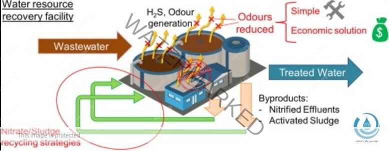 بوی بد فاضلاب- رفع بوی بد فاضلاب- روش بی هوازی- مهندسین پالود صنعت- پالود صنعت- بوی هیدروژن سولفید