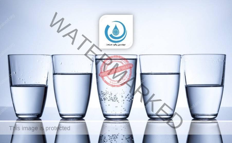 کیفیت آب آشامیدنی- کیفیت آب گازدار- مقدار آهن آب آشامیدنی- پالود صنعت- مهندسین پالود صنعت